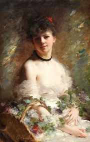 Charles Chaplin_1825-1891_Young Woman with Flower Basket.jpg