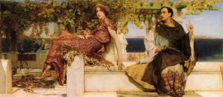 Lawrence Alma-Tadema_1898_The Conversion Of Paula By Saint Jerome.jpg