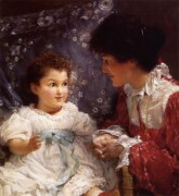 Lawrence Alma-Tadema_1899_Mrs. George Lewis and Her Daughter Elizabeth.jpg