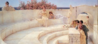 Lawrence Alma-Tadema_1903_Under the Roof of Blue Ionian Weather.jpg