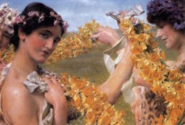 Lawrence Alma-Tadema_1911_When Flowers Return.jpg