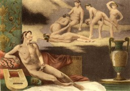 Paul Avril_1906_De figuris Veneris_11. Male masturbation.jpg